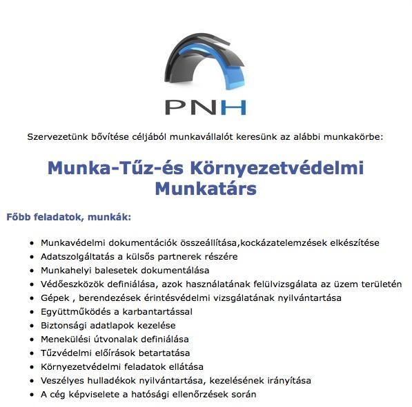 PNH álláshirdetés