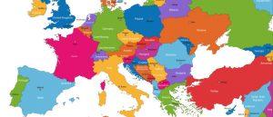 Európa térképe